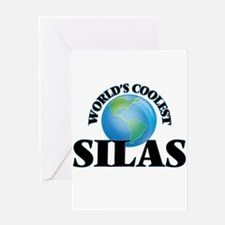 World's Coolest Silas Greeting Cards