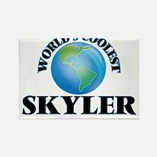 World's Coolest Skyler Magnets
