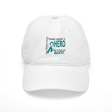 Heaven Needed Hero Ovarian Cancer Cap