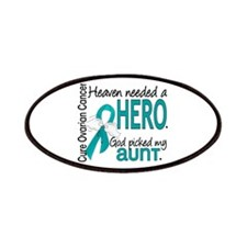 Heaven Needed Hero Ovarian Cancer Patches