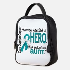 Heaven Needed Hero Ovarian Canc Neoprene Lunch Bag