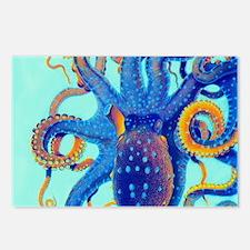 Octopus Splash Postcards (Package of 8)