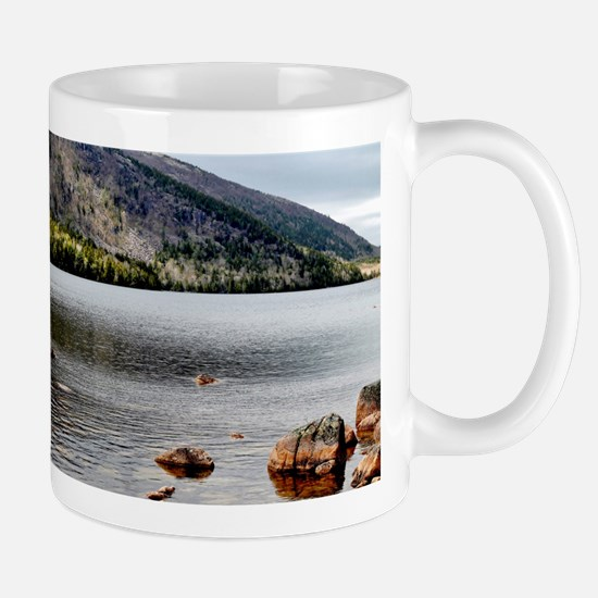 Jordan Pond, Bar Harbor, ME Mugs