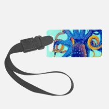 Octopus Splash Luggage Tag