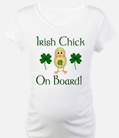 Irish Chick On Board! Shirt