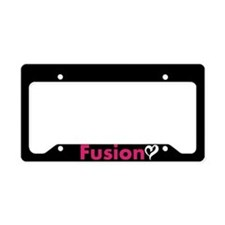 Love My Fusion License Plate Holder