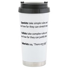 Unique Fencing Travel Mug