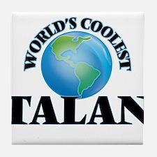 World's Coolest Talan Tile Coaster
