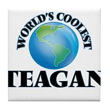 World's Coolest Teagan Tile Coaster