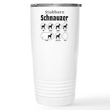 Stubborn Schnauzer v2 Travel Mug