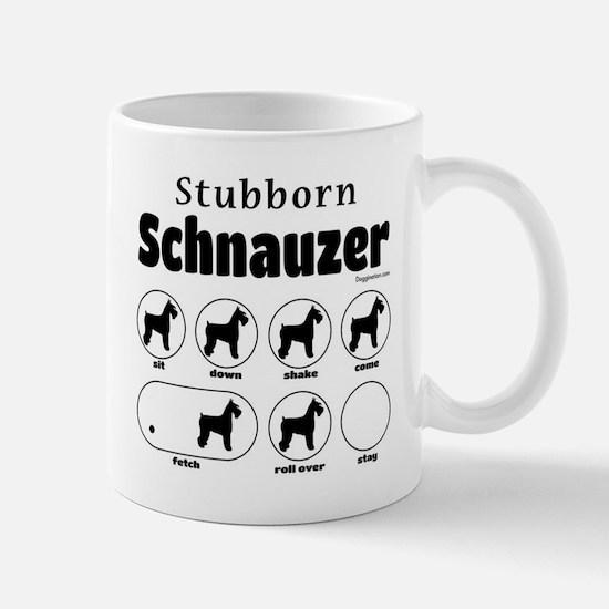 Stubborn Schnauzer v2 Mug