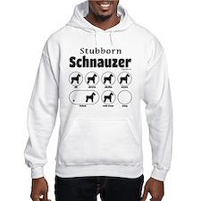Stubborn Schnauzer v2 Hoodie Sweatshirt