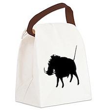 Wart Hog Canvas Lunch Bag