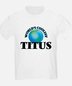 World's Coolest Titus T-Shirt