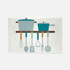 Kitchen Cooking Utensils Pots Magnets
