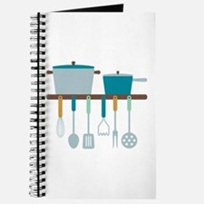 Kitchen Cooking Utensils Pots Journal