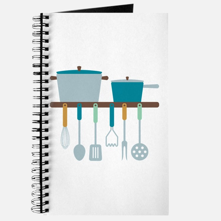 Kitchen Cooking Utensils Pots Journal