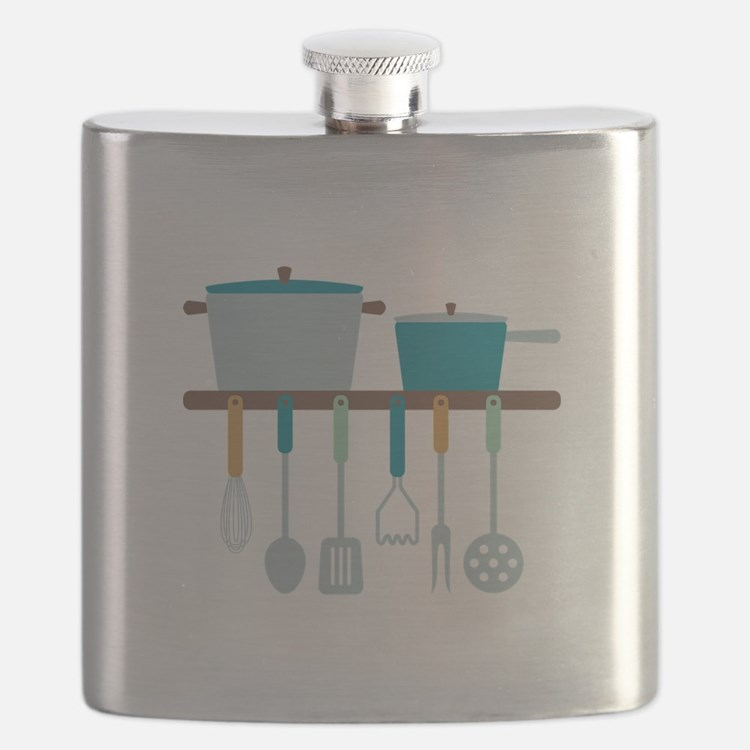 Kitchen Cooking Utensils Pots Flask