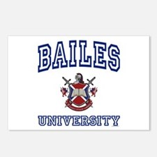 BAILES University Postcards (Package of 8)