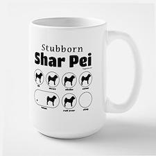 Stubborn Shar Pei v2 Mug