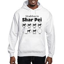 Stubborn Shar Pei v2 Hoodie
