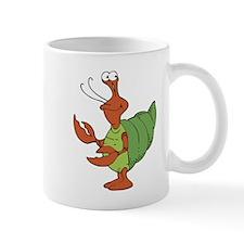 Silly Happy Hermit Crab Small Small Mug