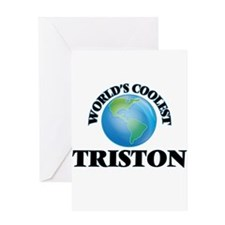 World's Coolest Triston Greeting Cards