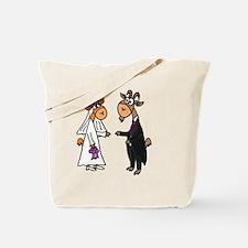 Goat Wedding Tote Bag