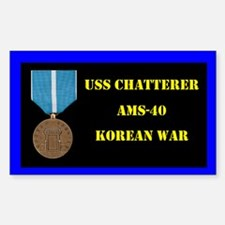 USS Chatterer Decal