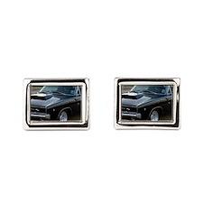 Dodge Charger 1970 Rectangular Cufflinks