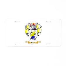 Hanger Aluminum License Plate