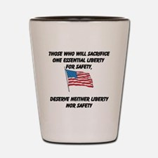 Liberty and Safety Shot Glass
