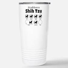 Stubborn Shih Tzu v2 Travel Mug