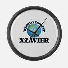 World's Coolest Xzavier Large Wall Clock