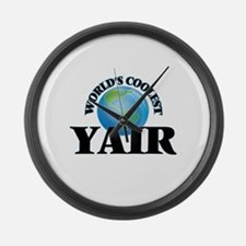 World's Coolest Yair Large Wall Clock