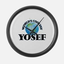 World's Coolest Yosef Large Wall Clock