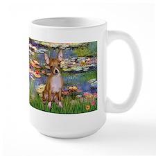Monet's Lilies 2 & Chihuahua  Mug