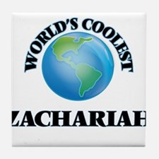 World's Coolest Zachariah Tile Coaster