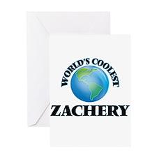 World's Coolest Zachery Greeting Cards