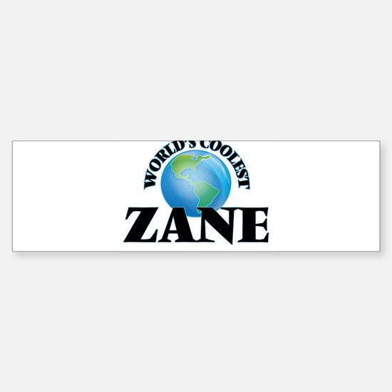 World's Coolest Zane Bumper Bumper Bumper Sticker