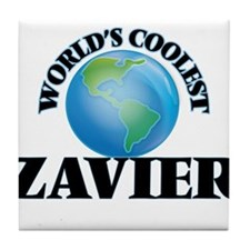 World's Coolest Zavier Tile Coaster