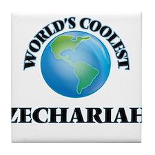 World's Coolest Zechariah Tile Coaster