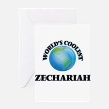 World's Coolest Zechariah Greeting Cards