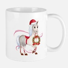 Peace on Earth Christmas Horse Mugs