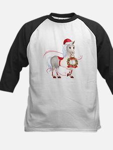 Peace on Earth Christmas Horse Baseball Jersey