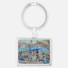 SHOPPING IN HAITI Keychains