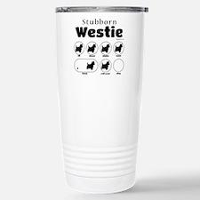 Stubborn Westie v2 Travel Mug