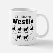 Stubborn Westie v2 Mug