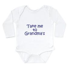 Cute Mama's boy Long Sleeve Infant Bodysuit