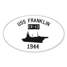 USS Franklin 1 Decal